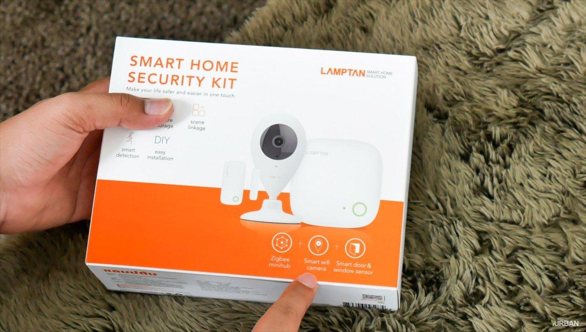 รีวิว LAMPTAN Smart Home Security Kit ชุดกล้องวงจรปิดและเตือนประตูเปิดไปมือถือ พร้อมชุดติดตั้งเองได้ 32 - App