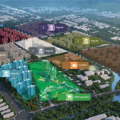 """KWG ผุดโครงการใหญ่ 'มิกซ์-ยูส' ที่ฉะเชิงเทราและอยุธยา เชื่อมความสัมพันธ์ทางเศรษฐกิจนโยบาย """"วันเบลต์ วันโรด"""" ของจีนกับเขตพื้นที่ EEC ของไทย 15 -"""