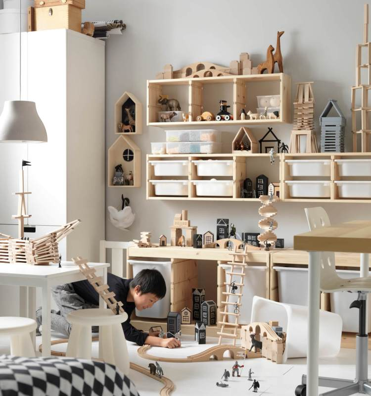 อิเกีย เผยแรงบันดาลใจในการเล่น พร้อมแนะไอเดียเนรมิตพื้นที่บ้าน  เพื่อเปิดโลกจินตนาการของเด็กๆ 23 - IKEA (อิเกีย)
