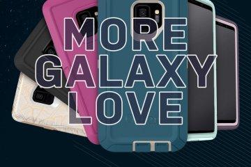 เคสกันกระแทก OtterBox จัดเต็มทุกรูปแบบ สำหรับแฟนพันธุ์แท้ Sumsung Galaxy S9, S9+ ภายใต้ชื่อ More Galaxy Love