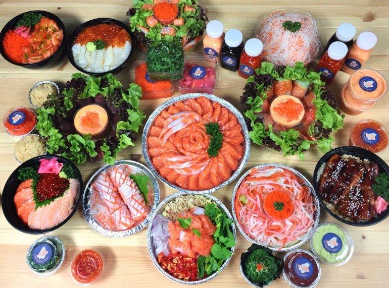 Salmonfarm จับมือ Line Man ร่วมพาร์ทเนอร์ ลุยตลาดอาหารออนไลน์ 13 -