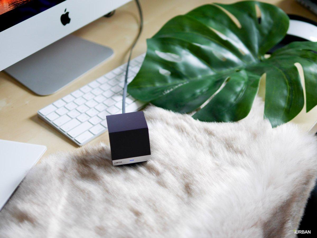 "lamp 16 Lamptan Smart Cube เปลี่ยนทุกอุปกรณ์ในบ้านที่ใช้ ""รีโมท"" ให้คุมผ่าน Mobile App และทำงานอัตโนมัติ"