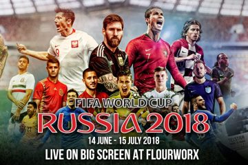 FIFA World Cup 2018 Live at FlourWorx Café - Pullman Bangkok Grande Sukhumvit 8 -