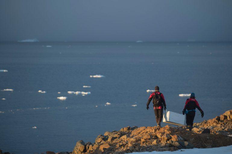 ทีมสำรวจของกรีนพีซ พบขยะพลาสติกและสารพิษอันตรายในน่านน้ำ แอนตาร์กติก 13 -