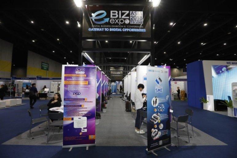e-Biz Expo 2018 งานเดียวก็เสริมเขี้ยวเล็บธุรกิจในยุคดิจิทัล 13 -