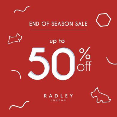 RADLEY LONDON END OF SEASON SALE 14 -