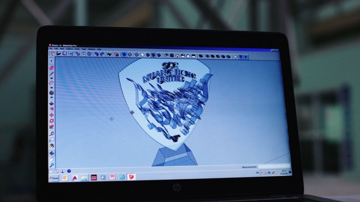03 Design The Crest of Pride เอสซีจี เมืองทอง ยูไนเต็ด สร้างแลนด์มาร์คโลโก้กิเลนผยองด้วยเทคโนโลยี 3D Cement Printing ของ เอสซีจี