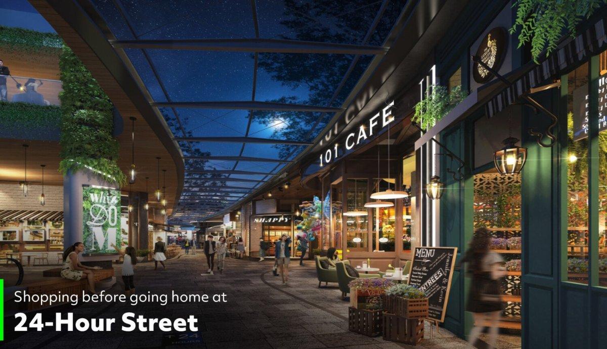 24 hour street ทรู ดิจิทัล พาร์ค...Global Destination ของคนดิจิทัลแห่งแรกในไทย ใหญ่ที่สุดในเอเชียตะวันออกเฉียงใต้ พร้อมเปิดให้สัมผัส Digital Lifestyle ปลายปีนี้!