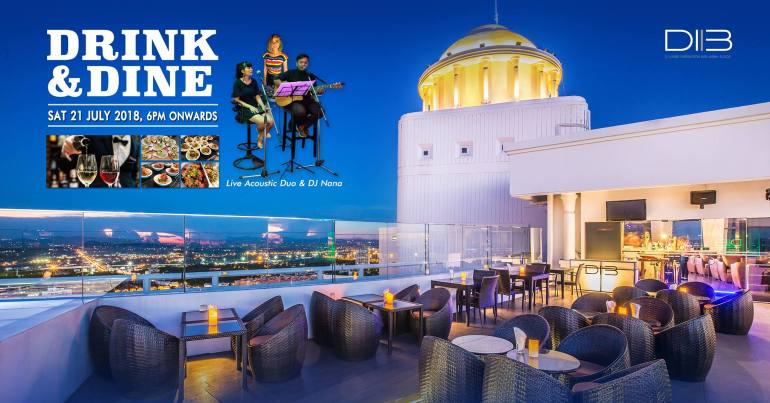 Drink n Dine at D.I.B Sky Bar, Pattaya 13 -