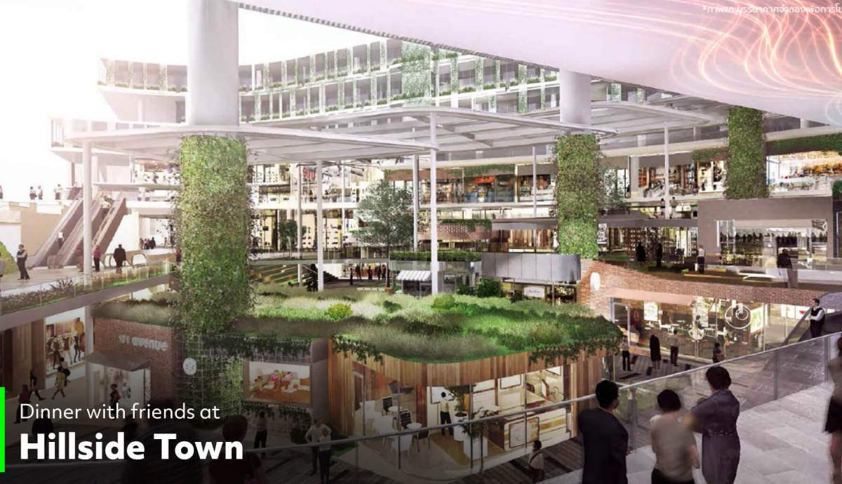 Hillside Town ทรู ดิจิทัล พาร์ค...Global Destination ของคนดิจิทัลแห่งแรกในไทย ใหญ่ที่สุดในเอเชียตะวันออกเฉียงใต้ พร้อมเปิดให้สัมผัส Digital Lifestyle ปลายปีนี้!