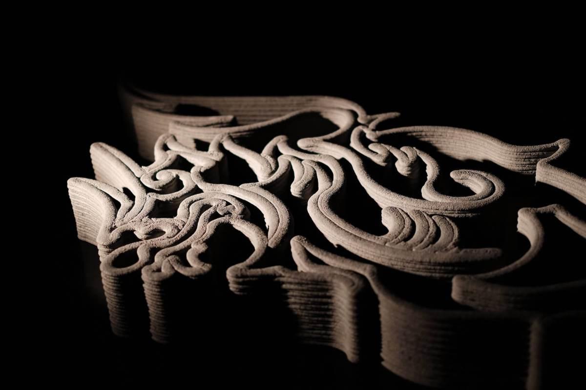 PR 3 เอสซีจี เมืองทอง ยูไนเต็ด สร้างแลนด์มาร์คโลโก้กิเลนผยองด้วยเทคโนโลยี 3D Cement Printing ของ เอสซีจี