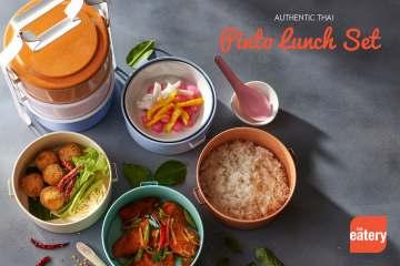 Thai Pinto Lunch Set(อร่อยในปิ่นโตสไตล์ไทย) at The Eatery 15 -