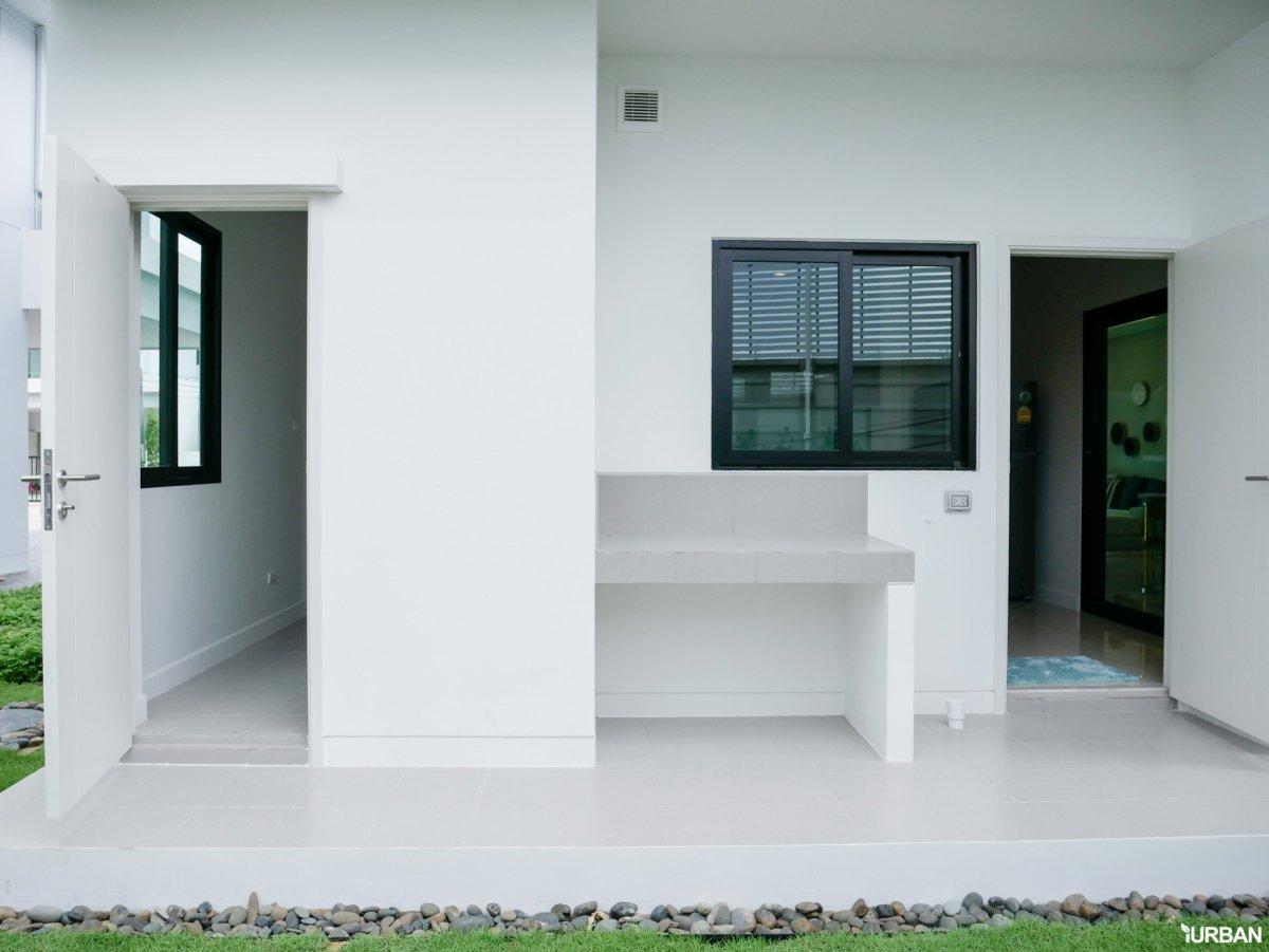 AIRI H2 21 AIRI แอริ พระราม 2 บ้านเดี่ยว 4 ห้องนอน ออกแบบโปร่งสบายด้วยแนวคิดผสานการใช้ชีวิตกับธรรมชาติ