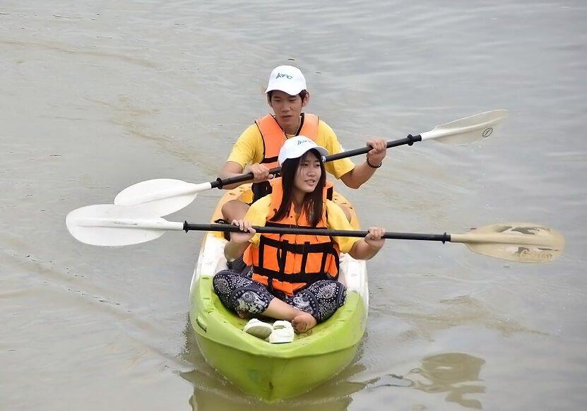 พายเรือเก็บขยะได้ถึง 2 ตัน ธรรมศาสตร์ร่วมสานต่อ #PlasticRights ในแม่น้ำระยอง 16 - junk