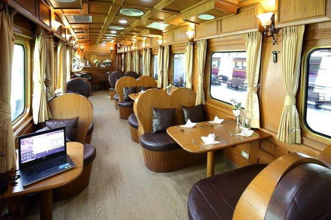 """ธรรมดาซะที่ไหน รถไฟไทยระดับเฟิร์สคลาส """"SRT Prestige"""" 17 - train"""