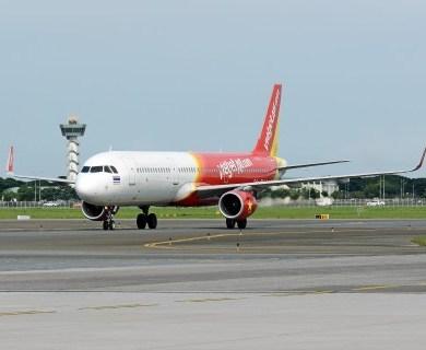 ไทยเวียตเจ็ทขยายฝูงบิน รับมอบ A321 เป็นสายการบินแรกในประเทศไทย 14 -