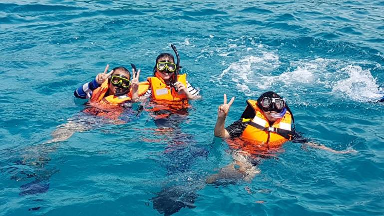 ข่าวประชาสัมพันธ์ กรมการท่องเที่ยวจัดอบรมการช่วยชีวิตนักท่องเที่ยว 13 -