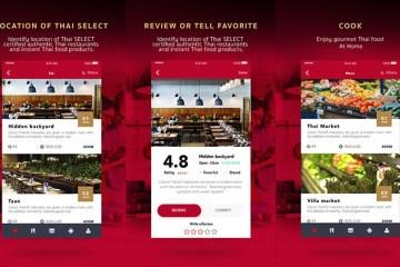 """กระทรวงพาณิชย์เปิดตัวแอพ """"Thai SELECT"""" ขยายช่องทางเข้าถึงร้านอาหารไทยในต่างประเทศ"""