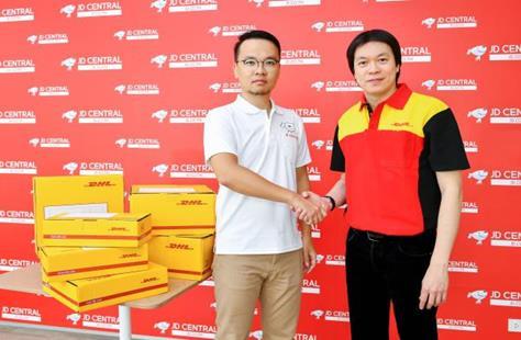 DHL eCommerce ประเทศไทย จับมือ JD CENTRAL มอบบริการจัดส่งพัสดุที่รวดเร็ว 13 -