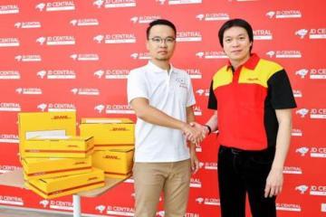 DHL eCommerce ประเทศไทย จับมือ JD CENTRAL มอบบริการจัดส่งพัสดุที่รวดเร็ว 6 -