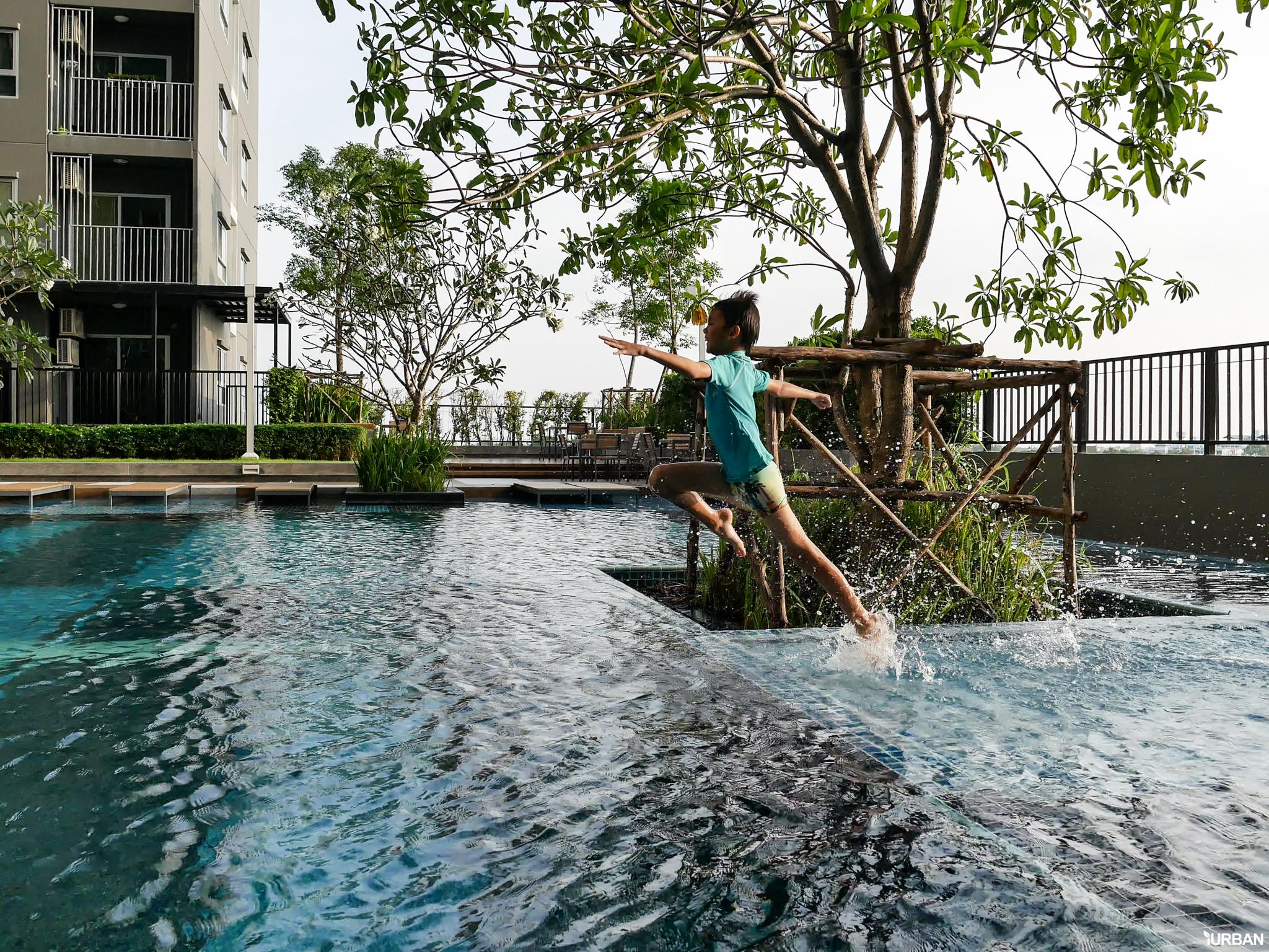 รีวิว The Trust Erawan คอนโดวิวแม่น้ำ / 1 ก้าวถึง BTS / 700 เมตรทางด่วน / ส่วนกลางใหญ่ 25 - Premium