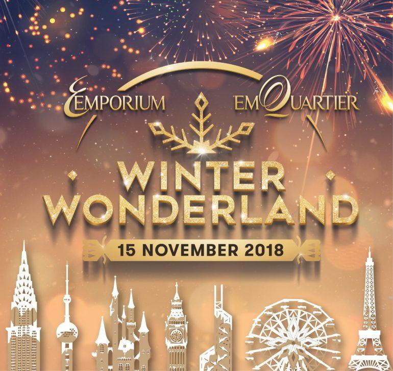 เอ็มโพเรี่ยม เอ็มควอเทียร์ วินเทอร์ วันเดอร์แลนด์ 2018 ยกดินแดนมหัศจรรย์แห่งเทพนิยายไว้กลางสุขุมวิท 13 -