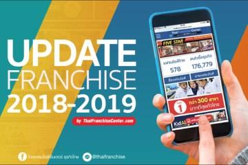 เปิดแล้ว! โครงการ Update Franchise 2018-2019 โดยไทยแฟรนไชส์เซ็นเตอร์ เว็บรวมแฟรนไชส์อันดับ 1 ของไทย 14 -