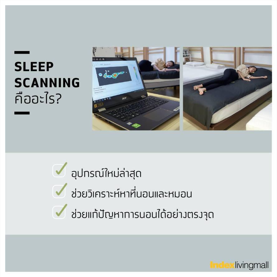 เพิ่มคุณภาพชีวิตได้ด้วยการนอนที่ Perfect Sleep Index Living Mall ปัญหานอนหลับไม่สนิท ปวดเมื่อย นอนเยอะแล้วยังเพลีย บริการให้คำปรึกษา ฟรี! 20 - index