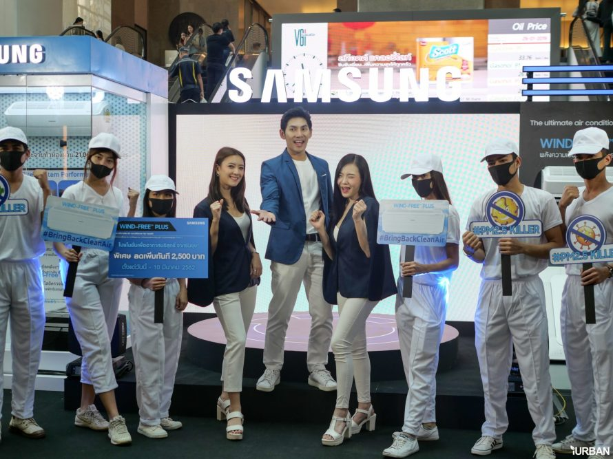 """แอร์ที่กรอง PM2.5 ได้ในเครื่องเดียว SAMSUNG Wind-Free Plus มากกว่าเครื่องฟอกอากาศถึงระดับ """"ไวรัส"""" 7 - samsung"""