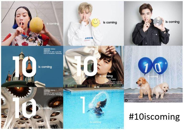 ซัมซุงปล่อยแคมเปญ '10 is coming' ชวนกาแลคซี่แฟน แชร์ภาพร่วมลุ้นเป็นส่วนหนึ่ง งานเปิดตัวสมาร์ทโฟนรุ่นใหม่ 21 ก.พ. นี้ 12 - samsung