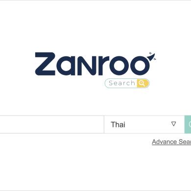 อยากรู้เรื่องอสังหาใหม่ๆ ไม่ตกเทรนด์ ต้องลอง Zanroo Search  Search Engine รูปแบบใหม่ สัญชาติไทยแท้ 14 - Zanroo