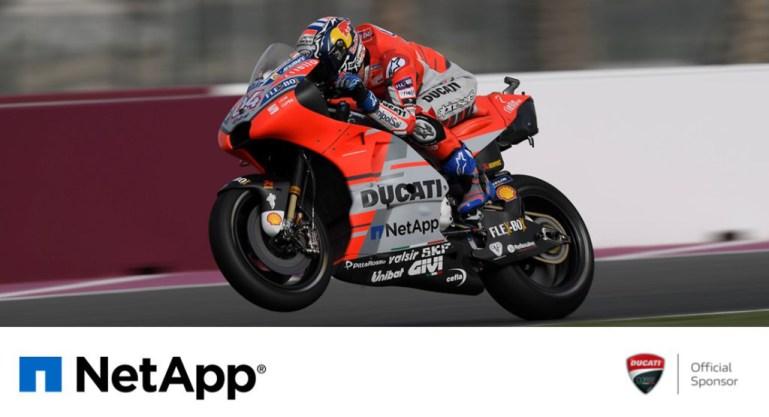 เน็ตแอพขับเคลื่อนระบบข้อมูลให้กับทีมดูคาติ ในการแข่งขันมอเตอร์สปอร์ตระดับโลก MotoGP Championship 2019 13 -