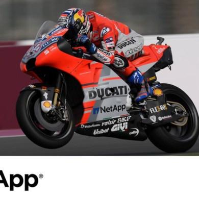 เน็ตแอพขับเคลื่อนระบบข้อมูลให้กับทีมดูคาติ ในการแข่งขันมอเตอร์สปอร์ตระดับโลก MotoGP Championship 2019 16 -