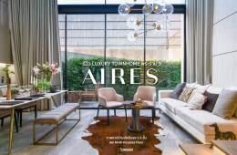 AIRES RAMA9 รีวิว Luxury Townhome 3.5 ชั้น + Rooftop ออกแบบสวย ย่านพระราม9 (ใกล้ รพ.สมิติเวช) 4 - Cover