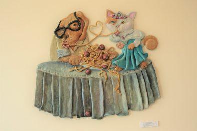 งานศิลปะจากกลุ่มศิลปินผู้รักสัตว์ 1