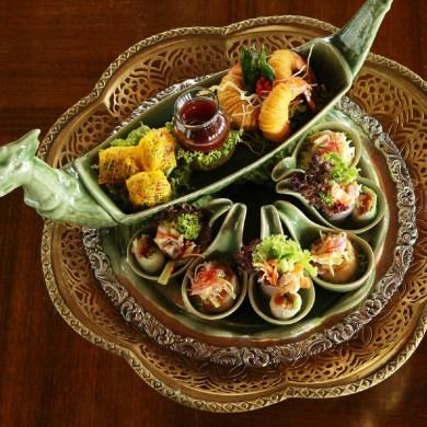 อาหารไทยภาคกลางเลิศรส ต้นตำหรับชาววัง ณ ห้องอาหารธาราทอง โรงแรมรอยัล ออคิด เชอราตัน 15 -