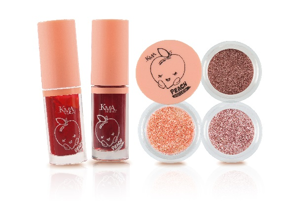 ใหม่!! KMA PEACH MELLOW GRANULAR EYE & JELLY TINT 13 -