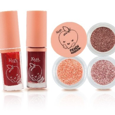ใหม่!! KMA PEACH MELLOW GRANULAR EYE & JELLY TINT 14 -