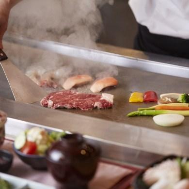 เซ็ตเทปันยากิมื้อกลางวัน เอาใจคนรักซาชิมิและเทปันยากิ ห้องอาหารคิซาระ โรงแรมคอนราด กรุงเทพฯ 14 -