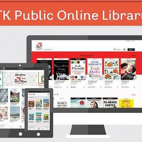 "TK park เสริมแกร่งให้ห้องสมุดออนไลน์ ""TK Public Online Library"" 18 - books"