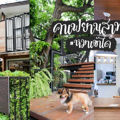 The Running Dog Cafe ร้านกาแฟ #หมาเข้าได้ สไตล์สถาปนิก ย่านสาทร 22 - cafe