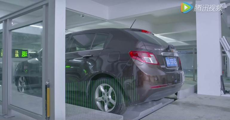 ไม่ต้องหาที่จอดเองแล้ว หุ่นยนต์จอดรถ HikVision ช่วยคุณได้ 18 - building