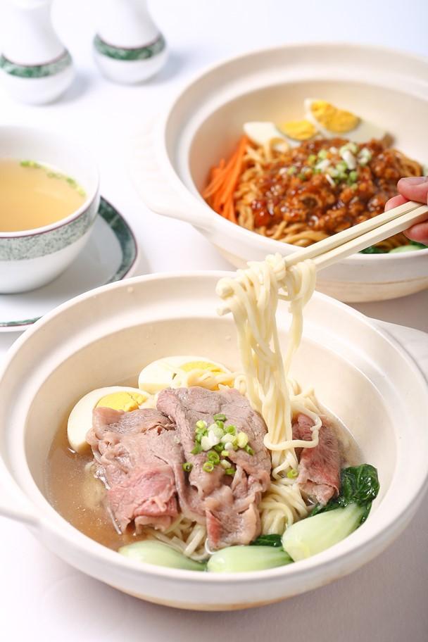 อร่อยเด็ด เส้นเหนียวนุ่มกับเมนูบะหมี่เส้นสดสไตล์กวางตุ้ง ที่ห้องอาหารจีนไดนาสตี้ 13 -