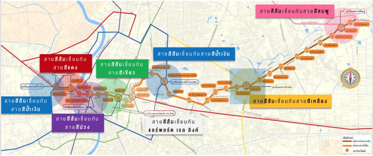 รีวิวทำเล THE ORIGIN RAM 209 INTERCHANGE คอนโดใหม่ย่านรามคำแหง-มีนบุรี ติดสถานีเชื่อมรถไฟฟ้า 2 สาย ส้ม-ชมพู เริ่ม 1.29 ล้าน 21 - Origin Property