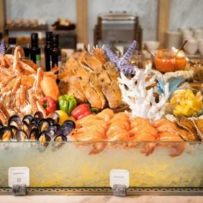 โปรโมชั่นสุดพิเศษเอาใจคนรักซีฟู้ด ทุกมื้อค่ำวันศุกร์ – เสาร์ ณ ห้องอาหารสกายไลน์ 17 -