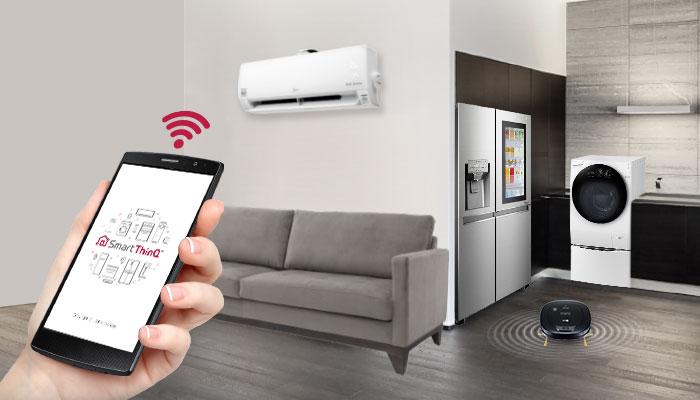 วิถีชีวิตคนเมือง กับตัวช่วยที่แม้ไม่ได้อยู่บ้านก็สั่งเครื่องใช้ไฟฟ้าได้ 16 - LG