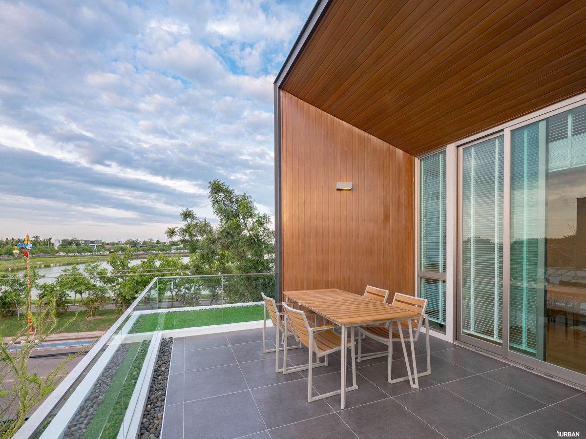 รีวิว Nirvana BEYOND Udonthani บ้านเดี่ยว 3 ชั้น ดีไซน์บิดสุดโมเดิร์น บนที่ดินสุดท้ายหน้าหนองประจักษ์ 119 - Luxury