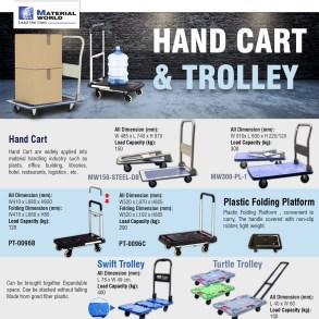 [Hand Cart & Trolley] รถเข็นหลากหลายแบบ เพื่อตอบโจทย์ทุกความต้องการในการใช้งาน 15 -