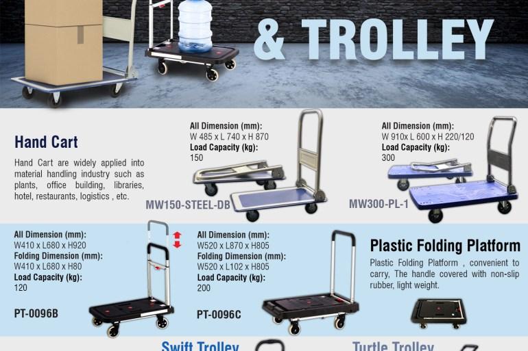 [Hand Cart & Trolley] รถเข็นหลากหลายแบบ เพื่อตอบโจทย์ทุกความต้องการในการใช้งาน 15 - ข่าวประชาสัมพันธ์ - PR News