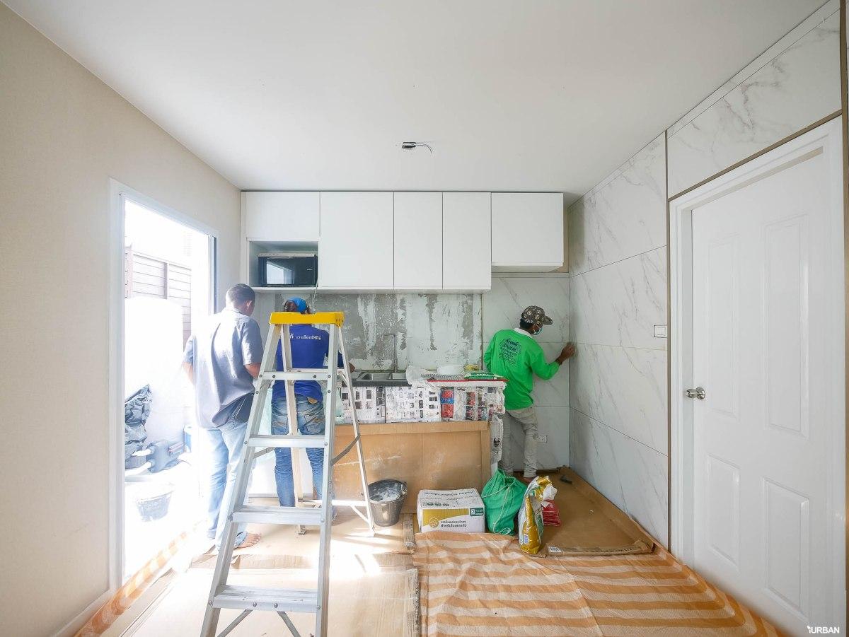 ไอเดียแต่งบ้าน รีโนเวทครัวให้สวยหรูสไตล์ Modern Luxury แบบจบงานไว ไม่กระทบโครงสร้างเดิม 60 - jorakay